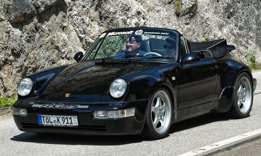 rtCars Werksturbolook Porsche Cabrio